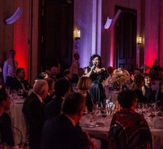ÁRIE Operní pěvkyně Andrea Kalivodová zazpívala mimo jiné árii z Carmen.