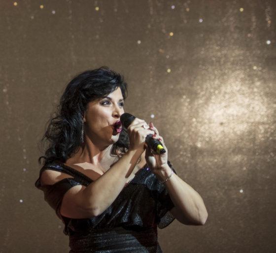Zpěvačka Andrea Kalivodová