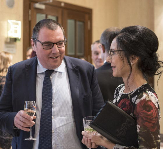 Někdější guvernér České národní banky a hlavní ekonom Generali Miroslav Singer, Libuše Šmuclerová
