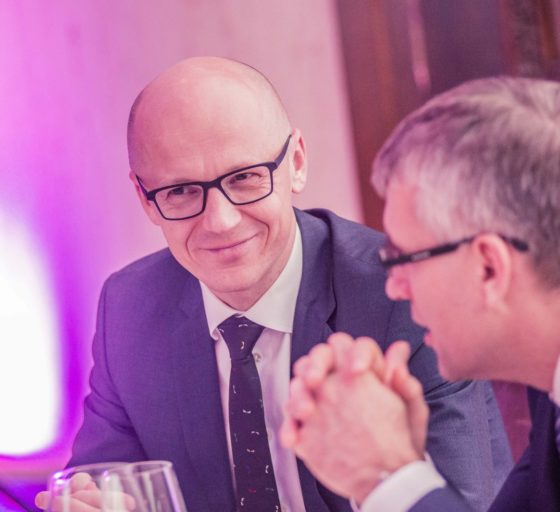 Podnikatel Vladan Hájek a Pavel Sedláček z Equa Bank